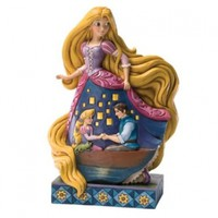 "Disney Traditions by Jim Shore Rapunzel Figurine ""Enlightened Love"" (4031485)"