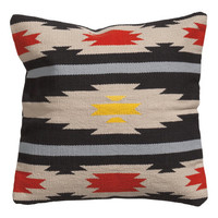 H&M - Jacquard-weave Cushion Cover - Charcoal gray