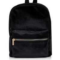 **Black Velvet Mini Backpack by Skinny Dip - New In This Week - New In