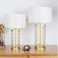 High Quality Golden Finish Decorative Table Lamps
