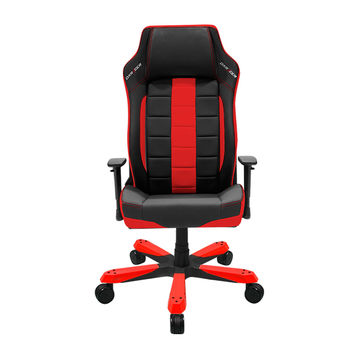 DXRacer BE120NR Big and Tall Ergonomic Leather office chair leather style-Red