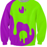 Colorful Big Drippy Yin Yang Sweatshirt