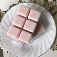Sweet Pea and Vanilla Soy Candle Tarts --(6)Cubes/3 Ounces