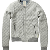 Home alone quilted bomber - Scotch & Soda