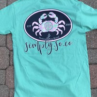 Simply Southern Crab Top - Teal