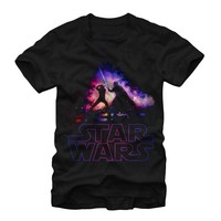 Star Wars Men's - Luke and Vader Duel T-Shirt
