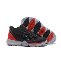 Nike Kyrie 5 Black Red Gray Men Shoes - Best Deal Online