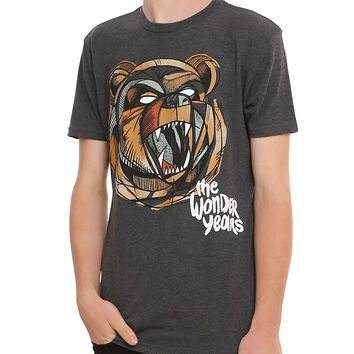 The Wonder Years Bear Head T-Shirt