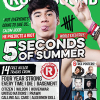 Rock Sound Magazine Store — ISSUE 190.4 / 5 SECONDS OF SUMMER / CALUM