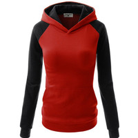 Causal Color Contract Hoodie-2