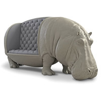 The Handcrafted Hippopotamine Sofa