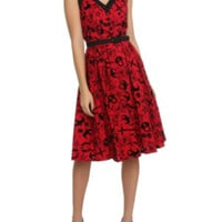 Hell Bunny Liv Red Dress