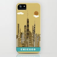 Chicago city (vintage iPhone & iPod Case by bri.buckley