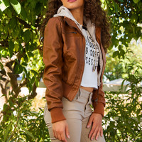 Hazel Grace Jacket - Tan