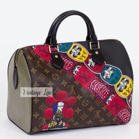 ONETOW New Louis Vuitton Kabuki Lim. Ed. Speedy 30 SOLD OUT