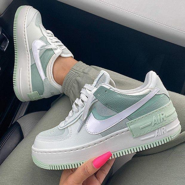 Image of Nike Wmns Air Force 1 Shadow Ultra Light Low Top Sports Casual Shoes