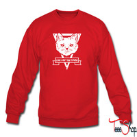 Life Fast Die Young Cat sweatshirt