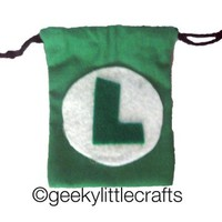 Video Game Logo Pouch by Geeky Little Crafts