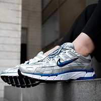 Nike P-6000 Retro Wild Casual Daddy Shoes Cushioning Running Shoes