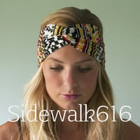 Tribal Turban Headband