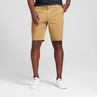 """Men's 10.5"""" Linden Flat Front Chino Shorts - Goodfellow & Co™"""