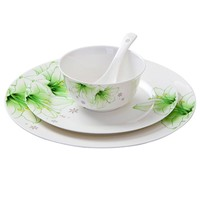 Dishes and plates bowl Creative Cutlery set dinnerware