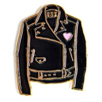 Black Leather Jacket Pin