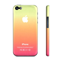 Cool Summer Colors Ombre  - Premium Slim Fit Iphone 5 Case