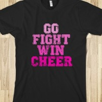 GO, FIGHT, WIN, CHEERLEADING