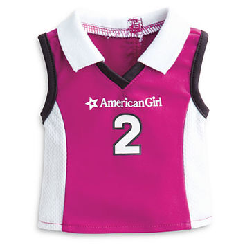 American Girl® Clothing: Lacrosse Outfit & Gear for Dolls + Charm