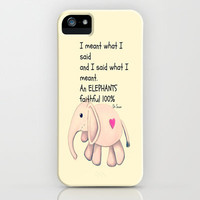 Faithful iPhone Case by Veronica Ventress | Society6