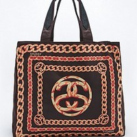 Stussy Scarf Tote Bag in Black - Urban Outfitters