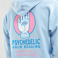 Psychedelic Palm Reader Hoodie Sweatshirt - Urban Outfitters