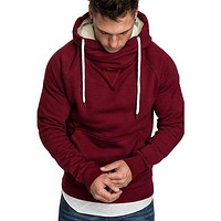 Men Zipper Hoodies Casual Sportswear Tracksuit