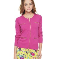 Zip Cardigan by Juicy Couture
