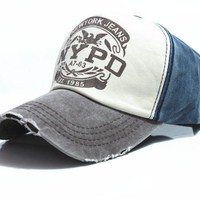 NYPD Fitted Baseball Sports Caps (UNISEX)