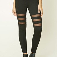 Contemporary Mesh Leggings