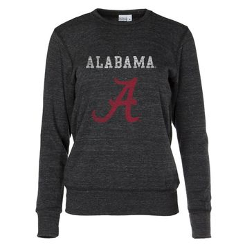 Official NCAA Alabama Crimson Tide  - 01AMBH16 Women's Crew Neck Sweatshirt