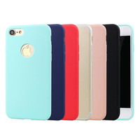For iphone 7 Case Silicone Ultra Slim Soft TPU Protective Phone Cover For Apple iPhone 7 (2016) Rubber Coque