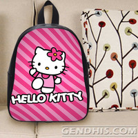Hello Kitty 4 301 Custom Bag / School Bag / Childrent Bag / Custom School Bag