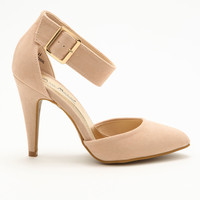 Ankle Strap Pointy Heels