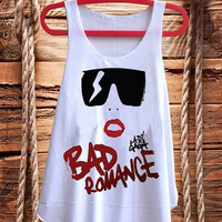 Cool Lady Gaga Cartoon  best design for Tank top mens and Tank top Girls fashion