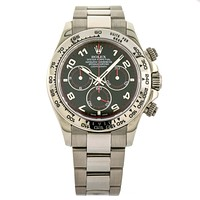 Rolex Daytona 116509 Men's White Gold Watch