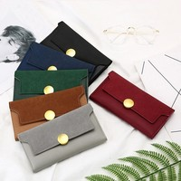 xiniu Women's Fashion Frosted Style Hasp Long female purse Wallet Billfold Purse womens wallets and purses portefeuille femme