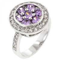 Lavender Lily Ring (size: 09)