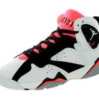 Nike Air Jordan 7 Retro GG 442960-106 White/Black/Hot Lava Kids Basketball Shoes