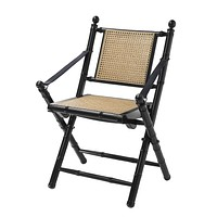 Natural Cane Folding Chair | Eichholtz Bolsena