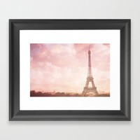 Paris in Pink Framed Art Print by Legends of Darkness Photography