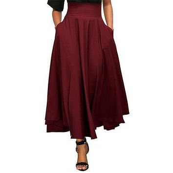 Women's Wild Fashion Swing Skirt