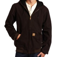 Carhartt Men's Big & Tall Thermal-Lined Sandstone Active Jacket